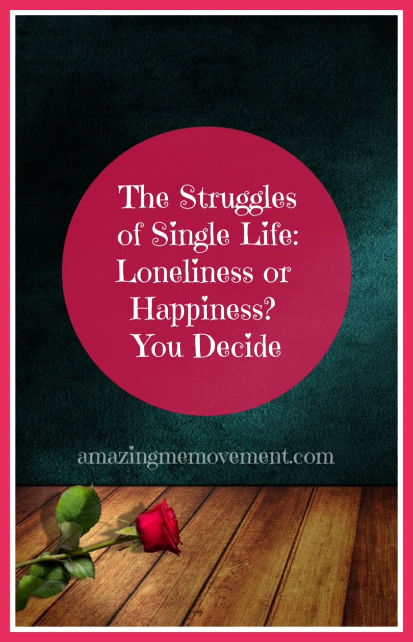 The Single Life:loneliness or happiness
