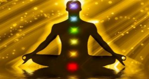 silhouette of man with chakras-chakra healing quiz
