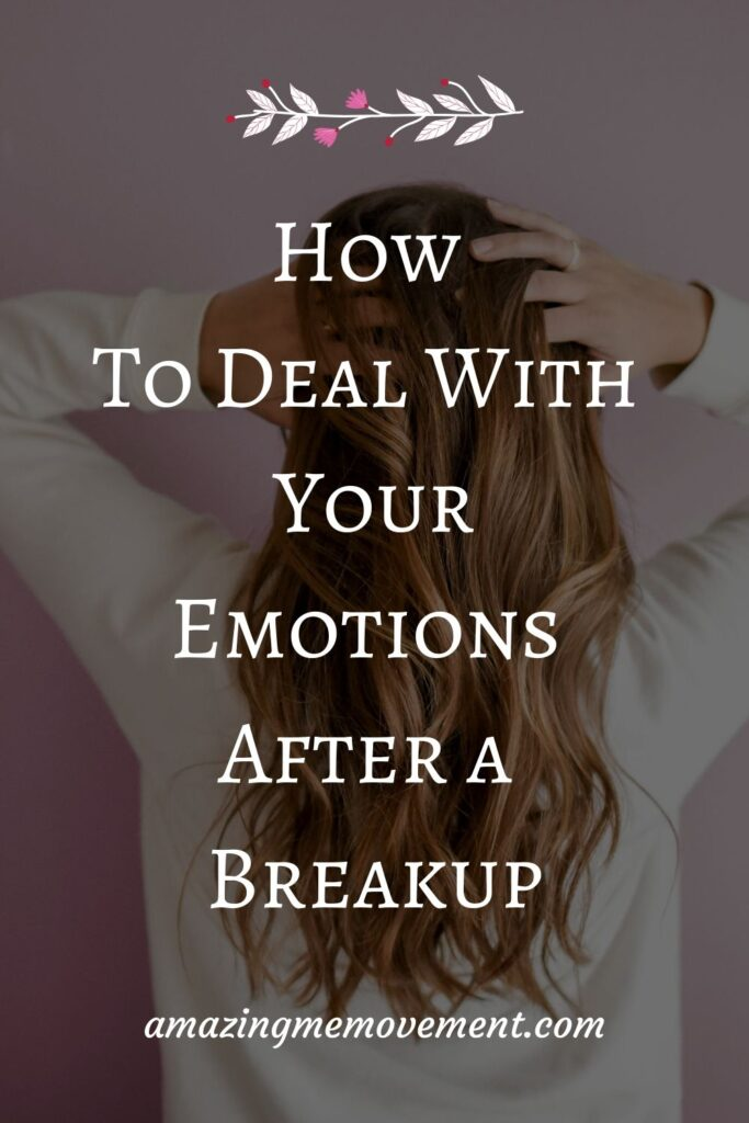 frustrated girl-how to deal with emotions after a breakup