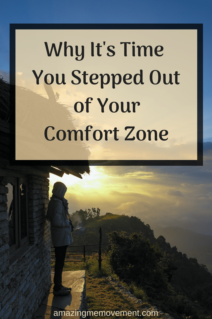 Are you still stuck in your comfort zone? It might be time to step out of it now. Here's why. #lifelessons #lifechanging #inspirationalblogstofollow #inspirationalstories #howtochangeyourlife #howtobehappy #startingover #lifetips #lifehacks #forwomen #wordsofencouragement #motivationalblogs #lifecoach #lifechangingtips