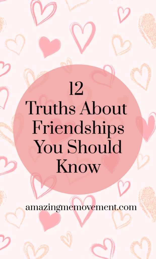 12 truths about friendships