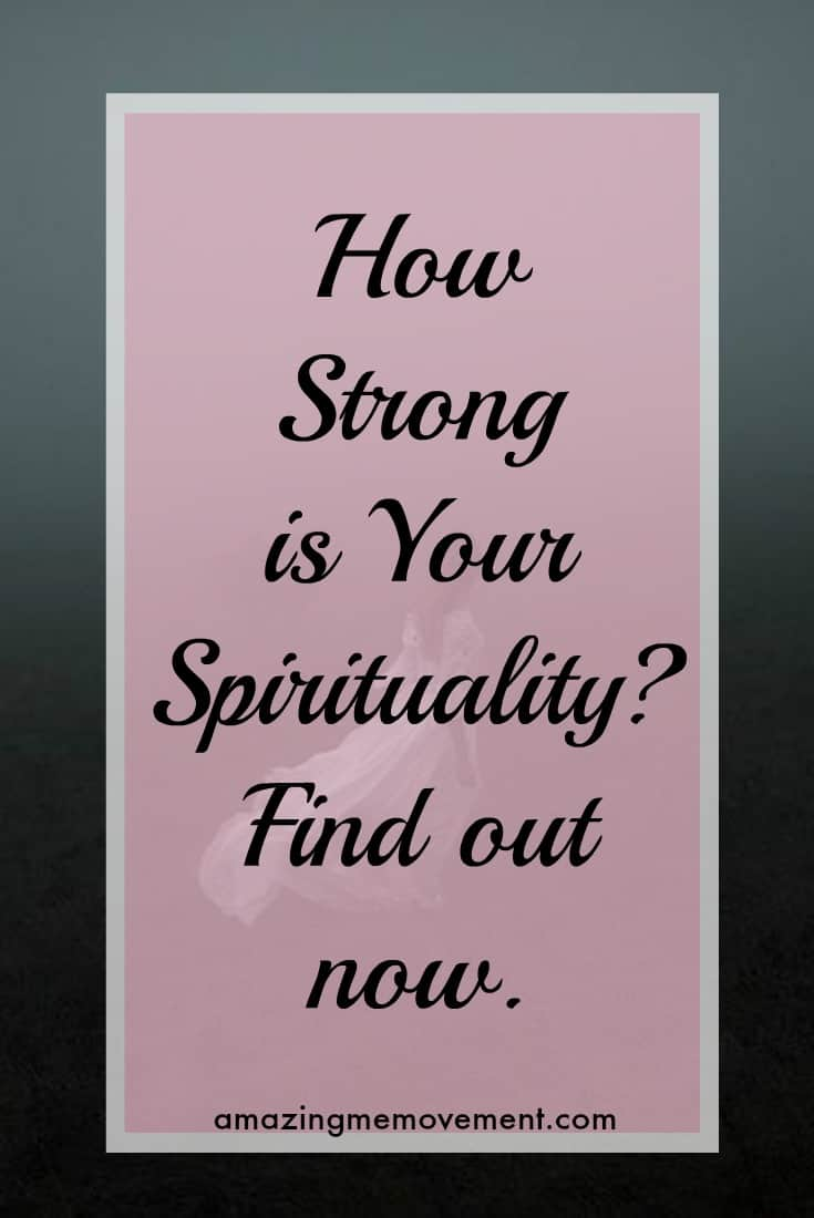 how strong is your spirituality quiz