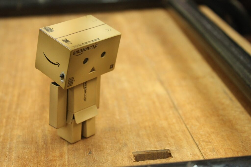 cute box figure-change your attitude