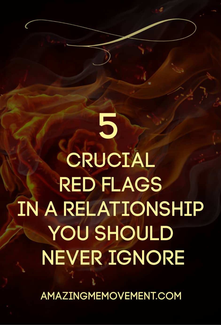 5 red flags in a relationship you should never ignore