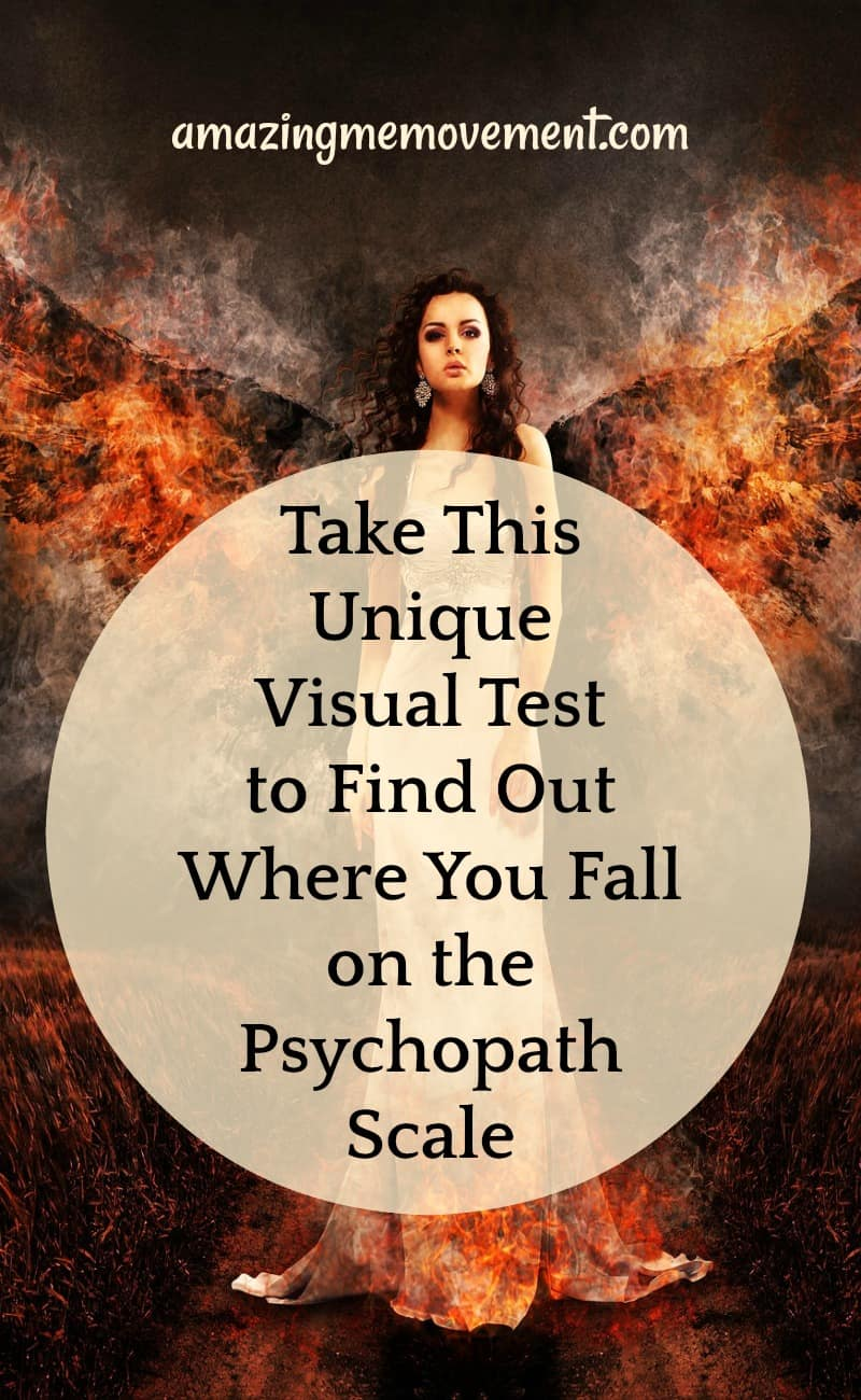 This unique visual test will reveal where you fall on the psychopath scale
