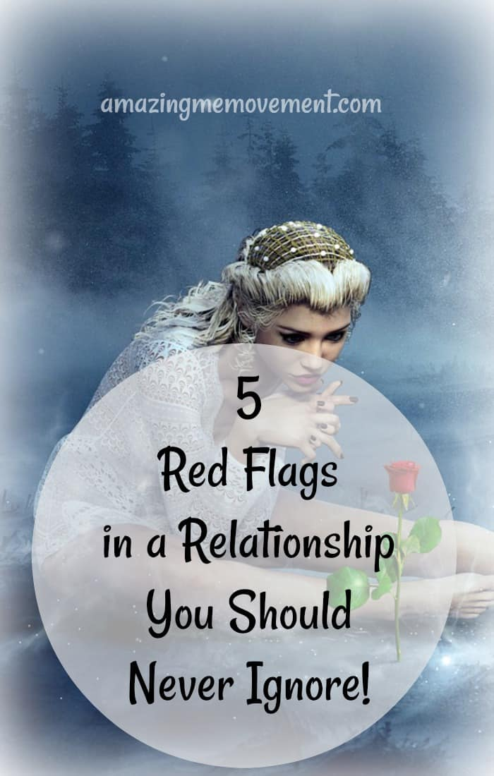 red flags in a relationship you should never ignore
