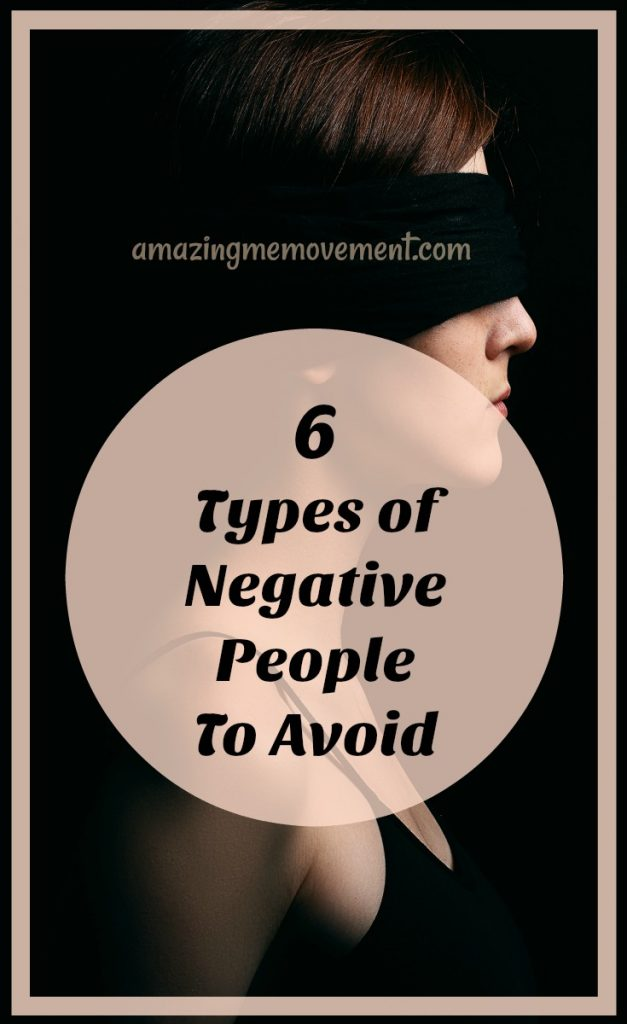 6 types of negative people to avoid