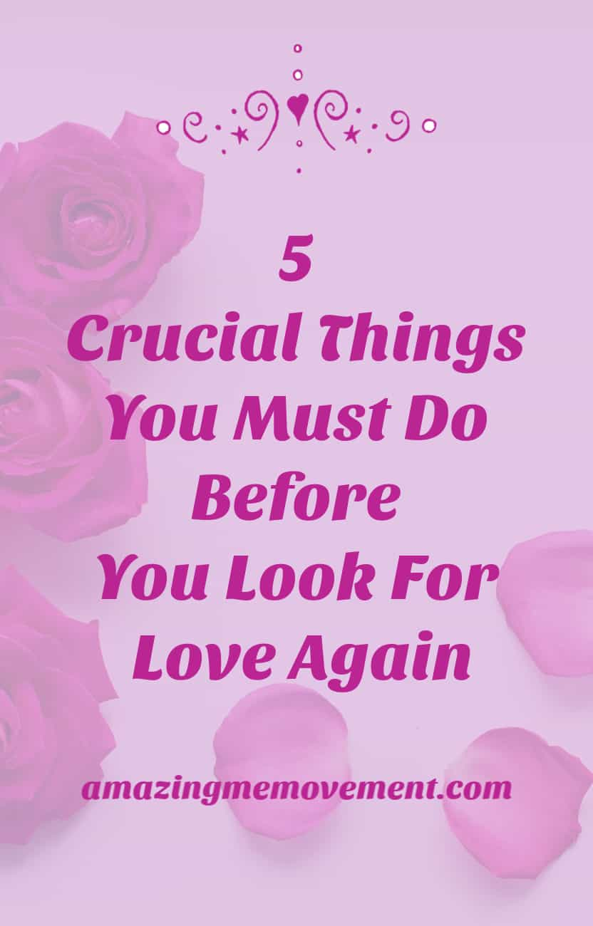 finding true love 5 things to do first