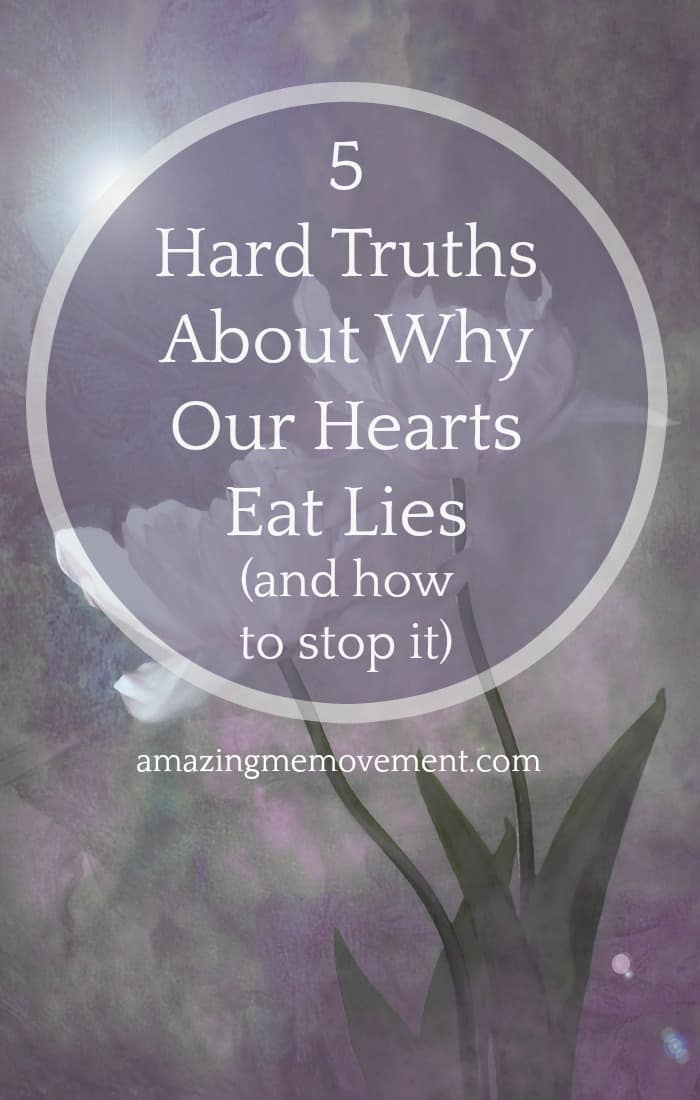 Why do we continuously let our hearts eat lies? When will we learn? Here are 5 reasons why they still do that. #selflove #selfconfidence #selfesteem #lifelessons #inspirational #motivational #healing #feelings #forwomen #relationships #inspirationalblogstofollow