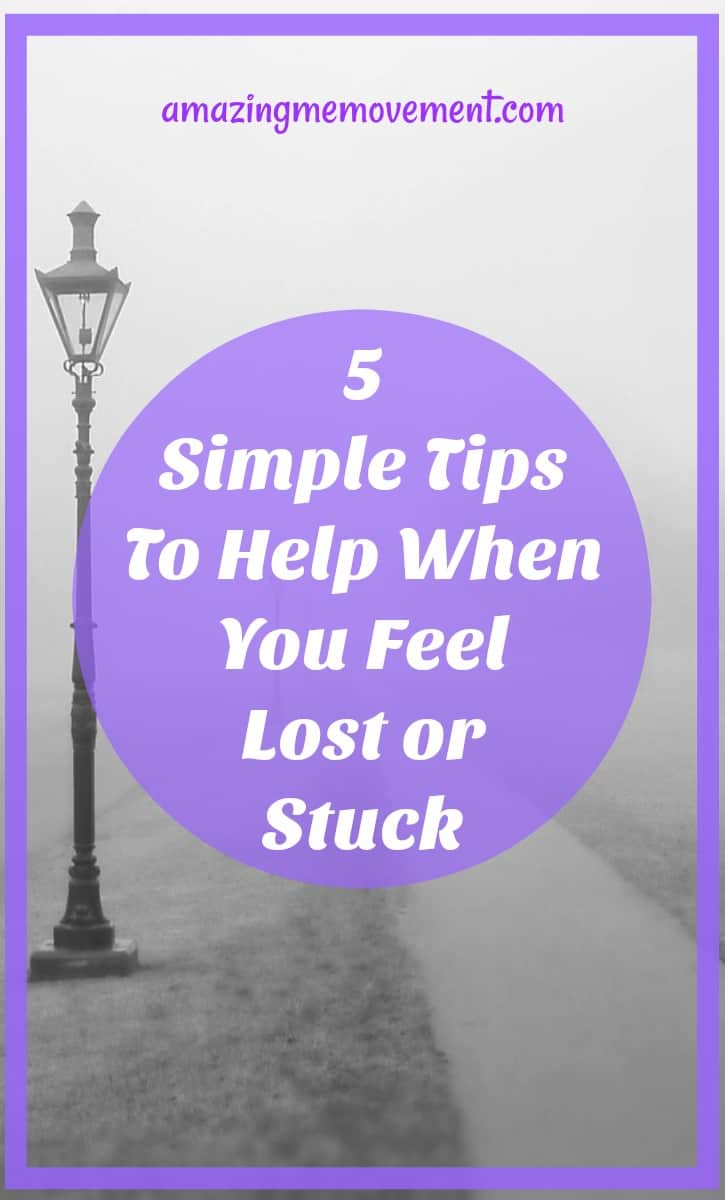 5 simple tips for when you're feeling stuck