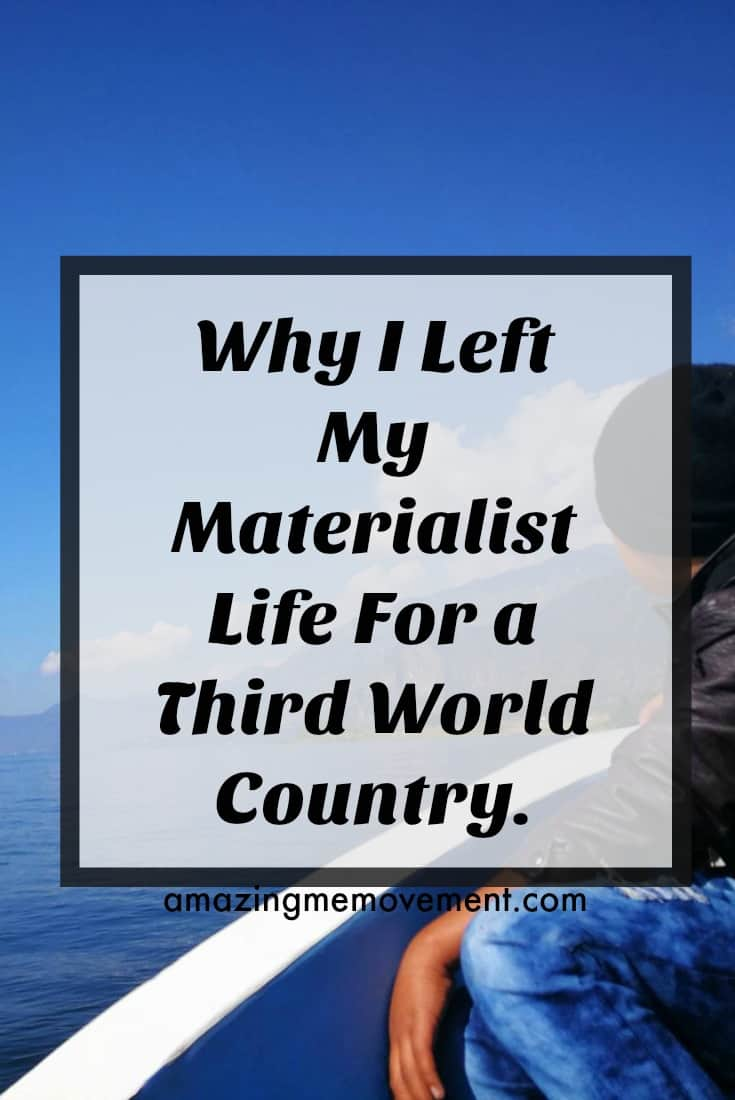 #thirdworldcountries #makeadifference #homeless #hunger #helpingothers #poverty Find out why I gave up 53 years of a materialistic life for a third world country.