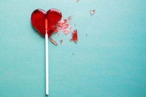 broken heart candy-dealing with heartbreak blog post image