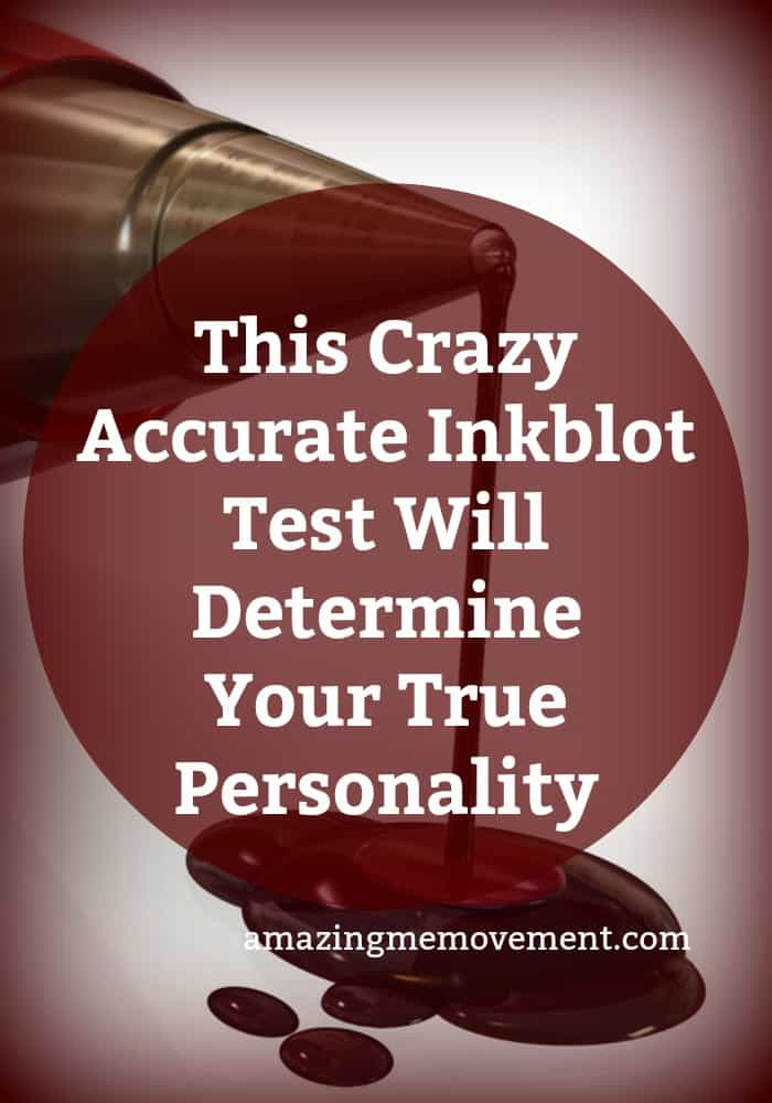 take this inkblot test now to reveal your true personality