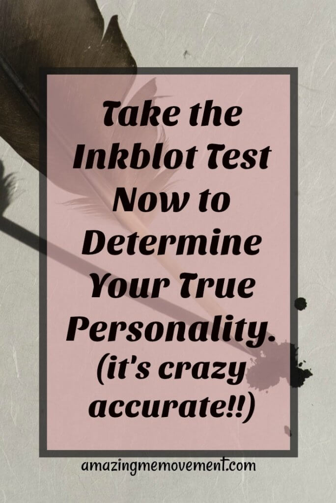 inkblot test, quiz, personality quiz, attitude