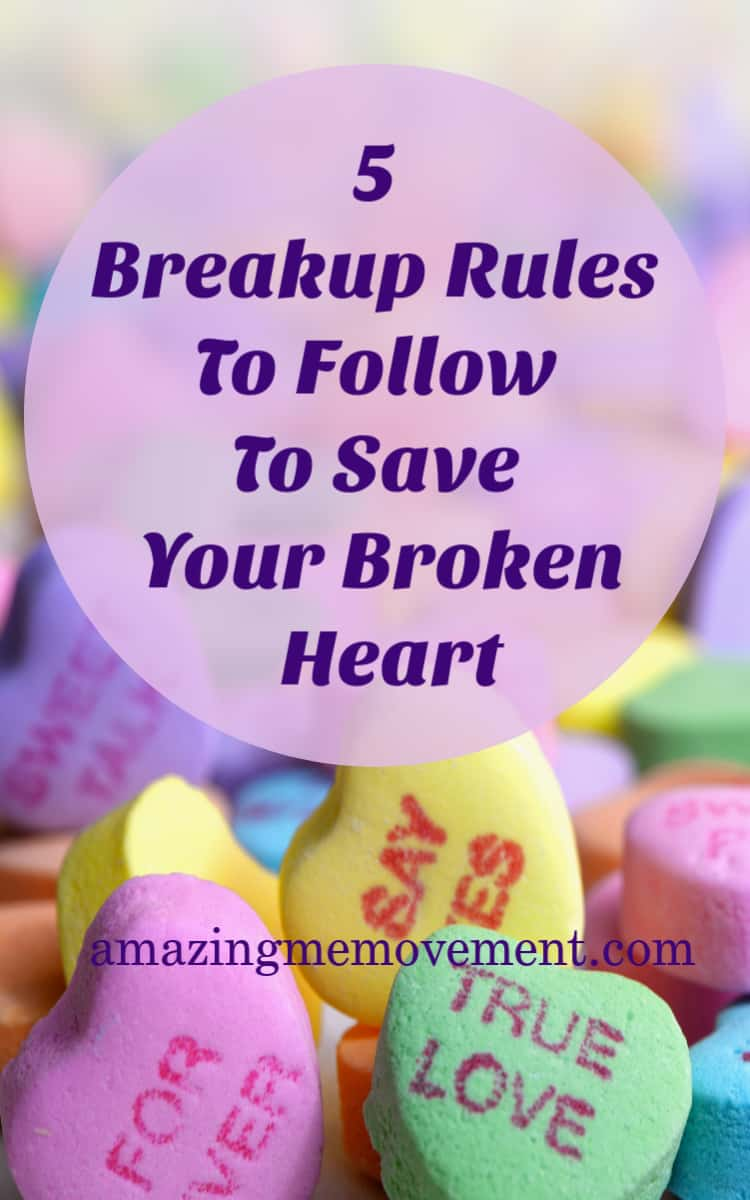 5 breakup rules to follow to save you a ton of grief