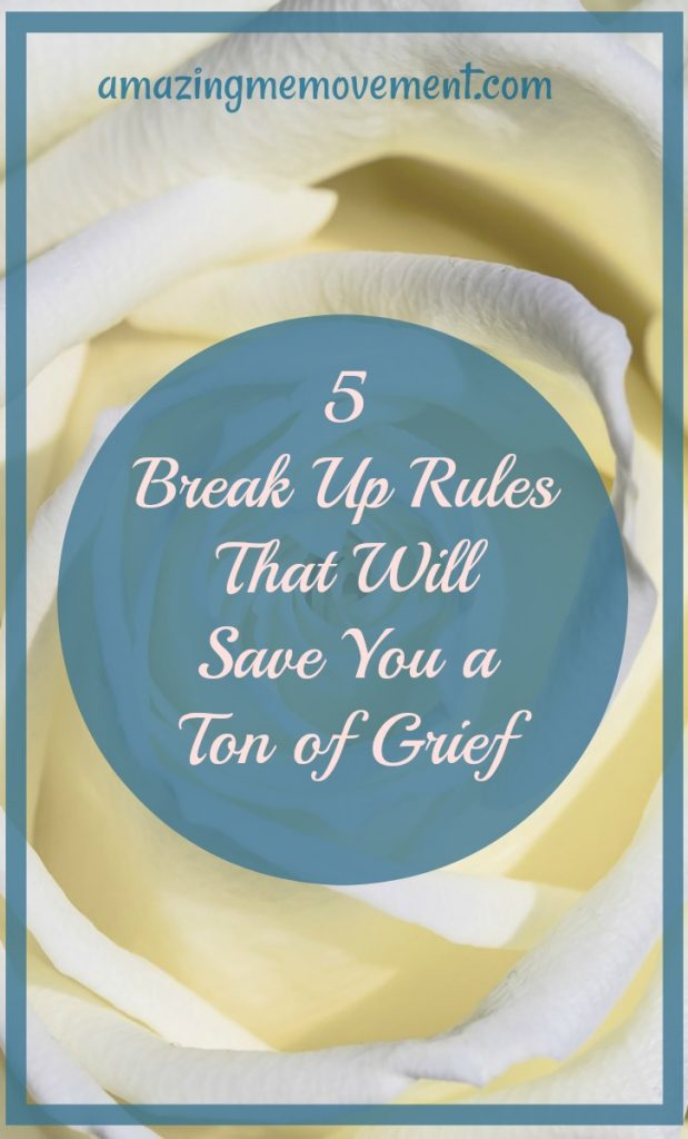 5 breakup rules that will save you a ton of grief