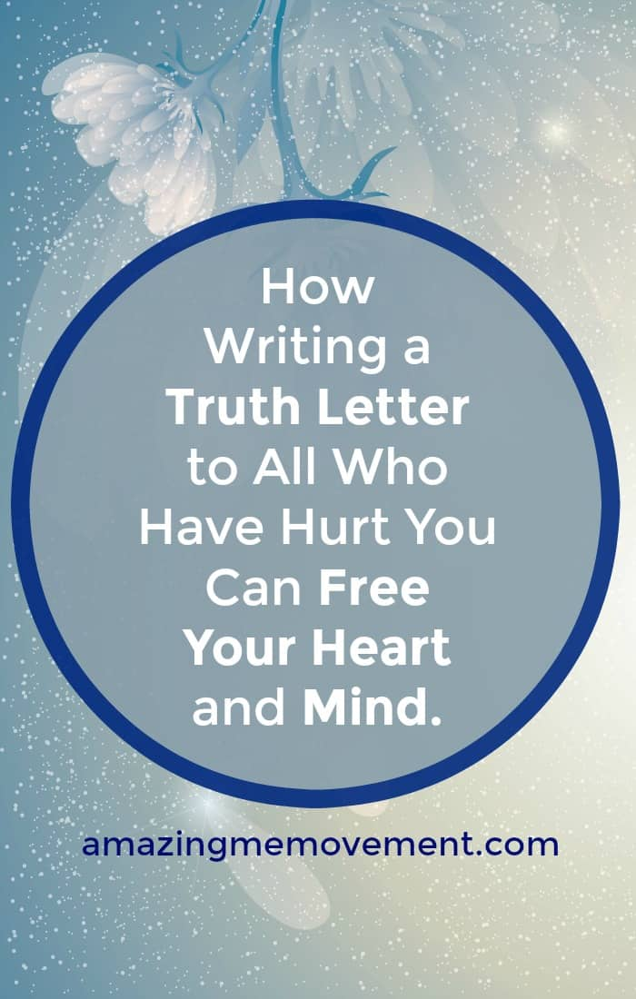Letter to tell someone they hurt you