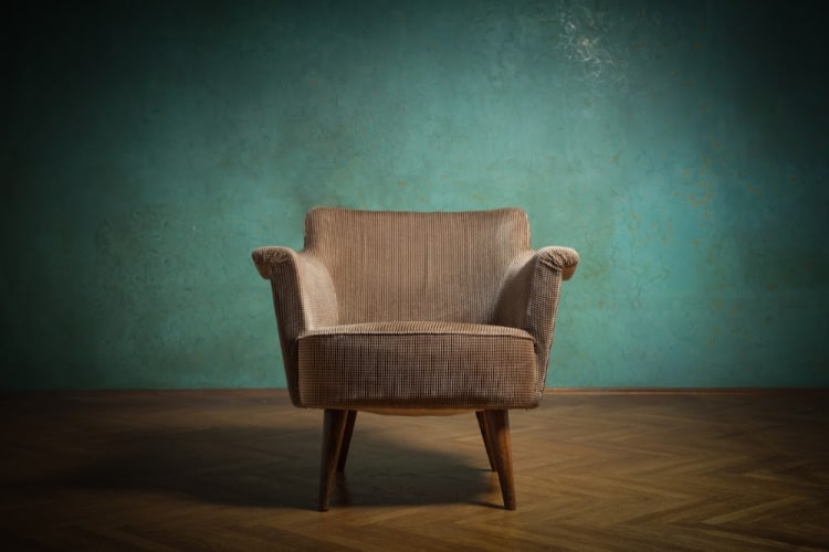 chair alone in room-cleanse a room of negative energy