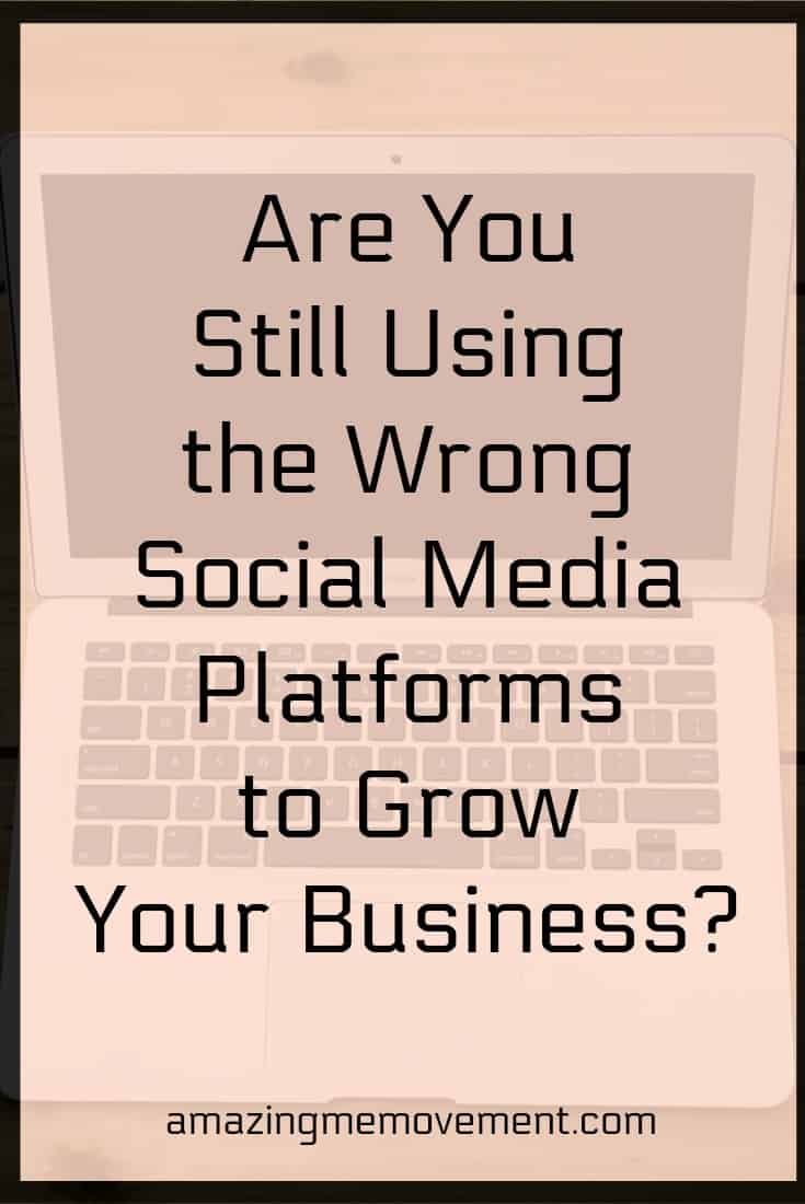 Are you still using the wrong platform to get your message out? #socialmediamarketing #digitalmarketing #internetmarketing #onlinemarketing #blogsites #entrepreneur #makemoneyonline Are you still using the wrong platform to get your message out?