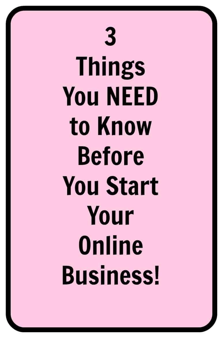 Are you ready to start an internet business? Here are 3 things you should know first. #internetbusiness #sitegroundhosting #webhosting #googlewebhosting #entrepreneur #successtips #makemoneyonline #bloggingtips #pinteresthelp #socialmediamarketing #howtomakemoneyonline