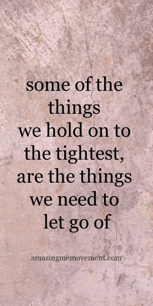 quote- move on and let go