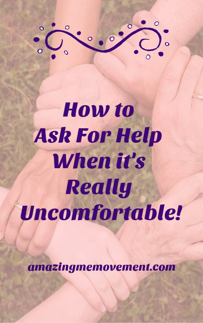 How to ask for help when it's really uncomfortable