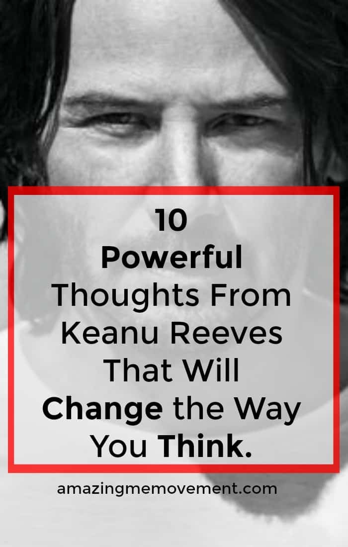 Are you a fan of Keanu Reeves? Love him or hate him, his thoughts are powerful and hard hitting! #inspirationalquotes #quotestoinspire #wisdomquotes #keanureeves #lifelessons #truths #wisdom #thoughtsonlife #lifelessons #inspiration #motivation