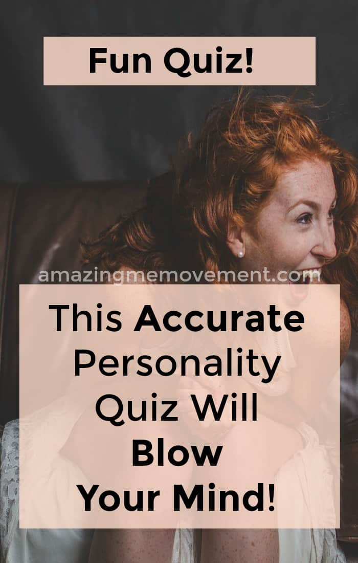 This accurate personality quiz is not only fun but SO true!! Take the quiz now to see how accurate it is for you too! #accuratepersonalityquiz #personalityquiz #test #myersbriggspersonalitytest #justforfun #funquizzes