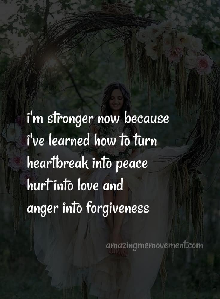 How to let go, forgive and move on