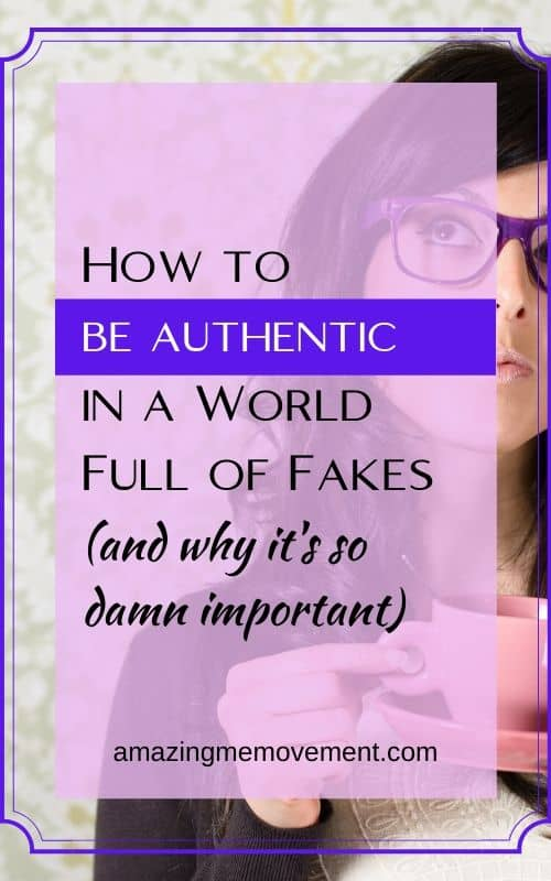 woman with coffee- how to be authentic