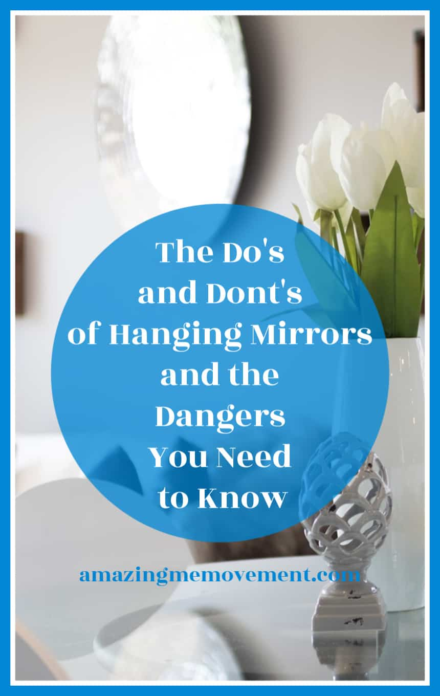 The do's and don'ts of hanging wall mirrors
