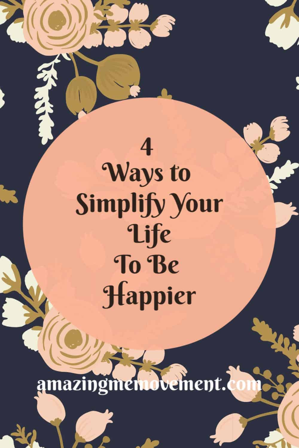 4 ways simplify your life