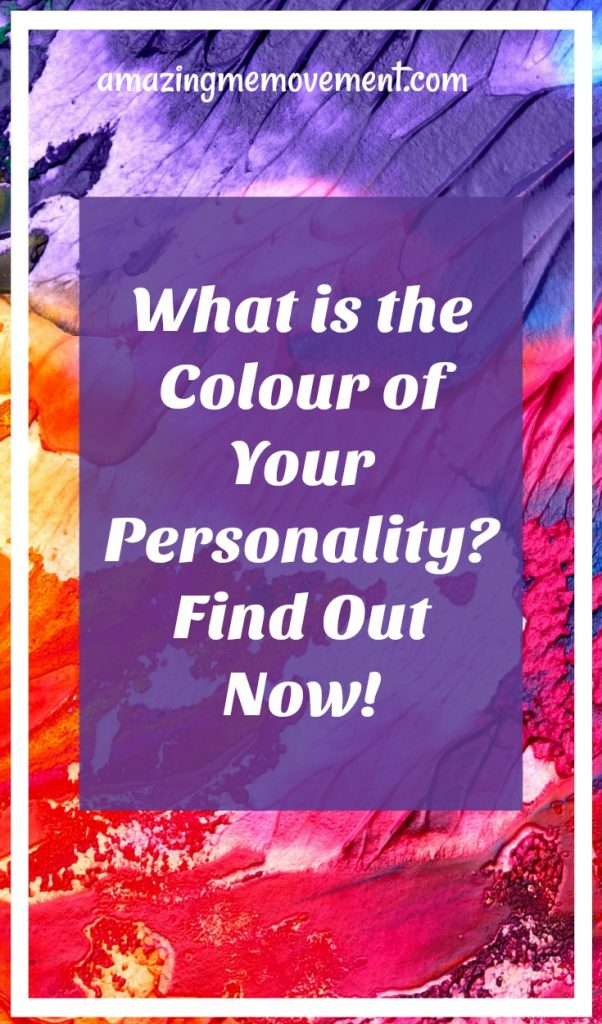 What colour is your personality