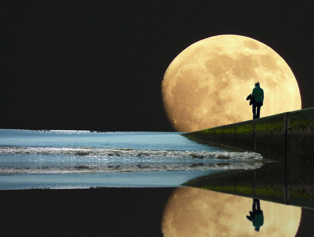 the full moon in August, the energy of the full moon is creativity this month, the full moon in pisces, dream and love in the pisces full moon in August