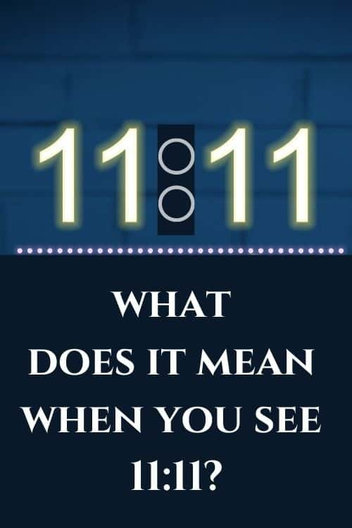 11:11 angel number blog post