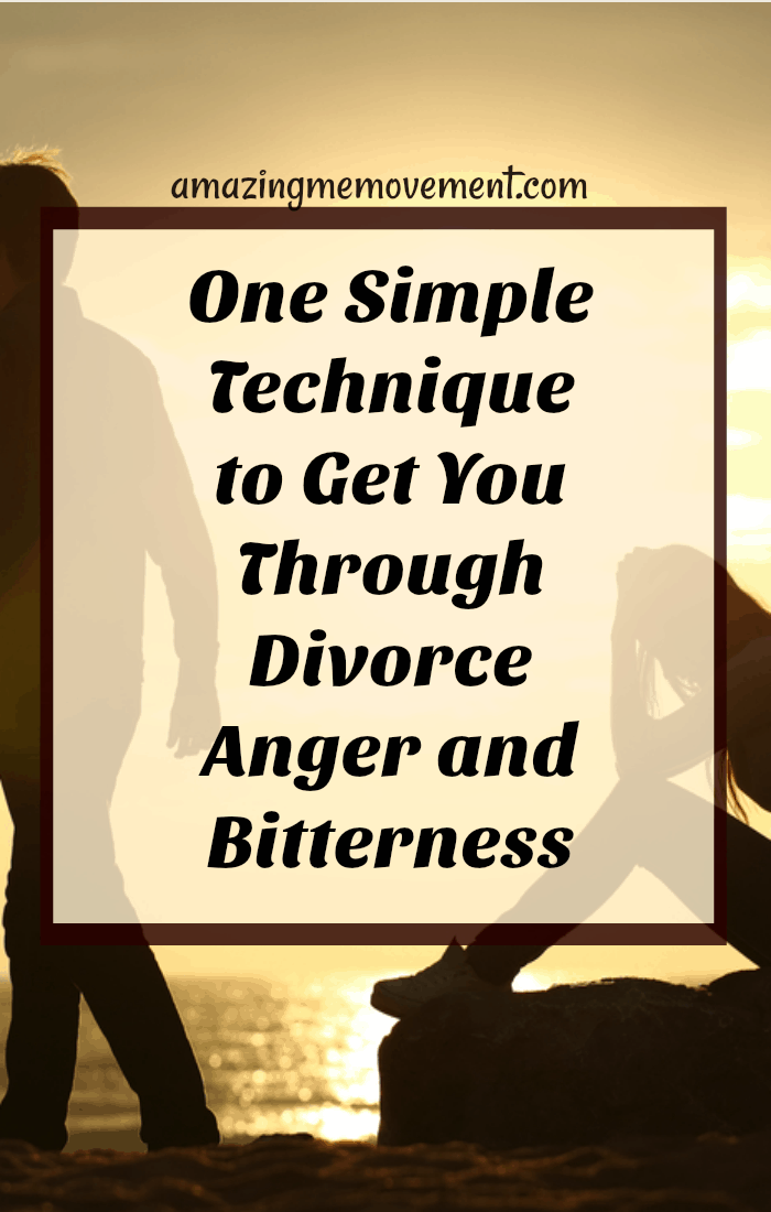 Are you struggling with anger and resentment still from your divorce or breakup? This one simple technique will help you get through it. #divorceissues #dealingwithdivorce #relationships #marriagebreakdown #angerissues #bitternessfromdivorce #howtodealwithdivorce #movingon #lettinggo #howtoletgo #howtomoveon