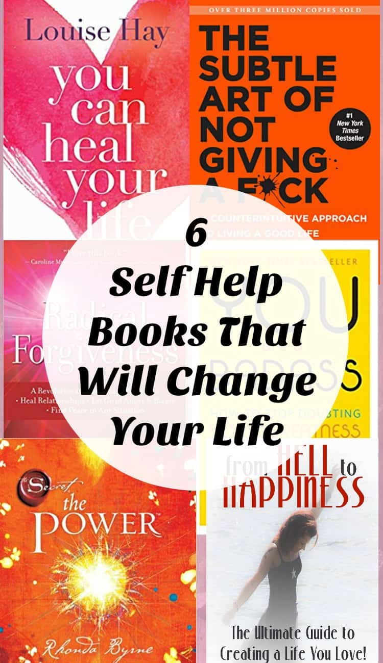 6 self help books that will change your life