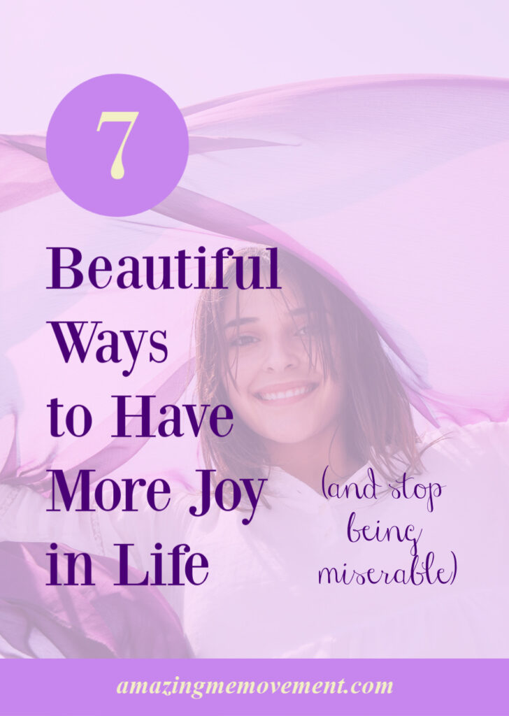 happy girl-how to have more joy in life