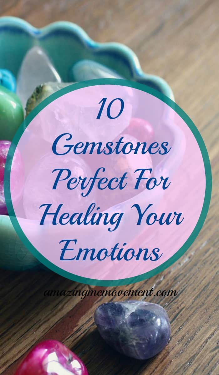 Did you know that you can effectively heal your emotions with gemstones? You absolutely can and here is my top ten pick. #gemstones #emotionalhealing #chakrahealing #stressmanagement #negativeenergy #rosequartzgemstones #healinggemstones #crystalsforhealing #affiliatelink #depression #forwomen #forteens