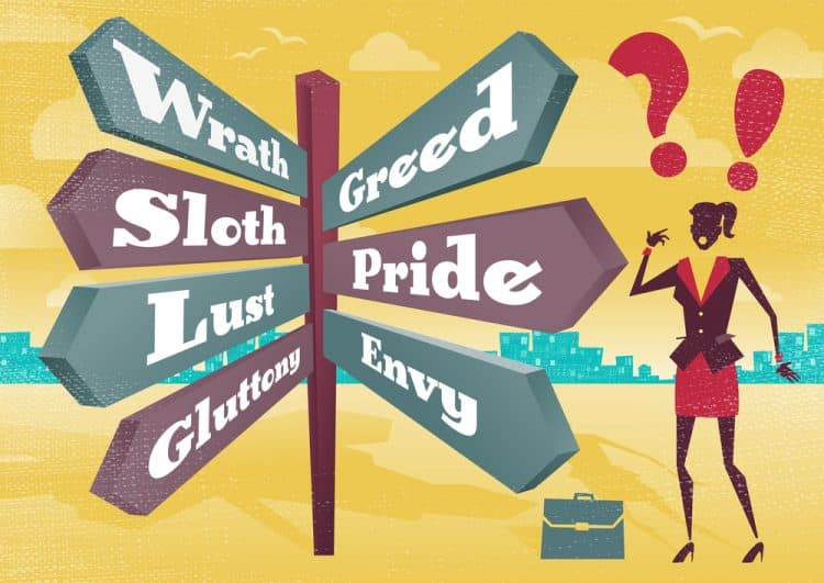 which deadly sin do you have