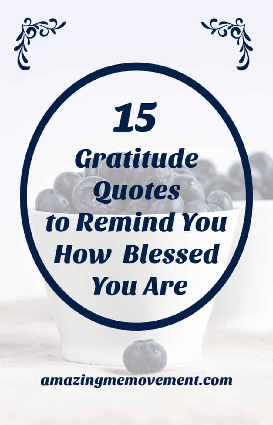 15 gratitude quotes to remind you how blessed you are