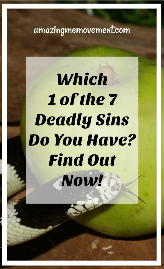 which deadly sin are you