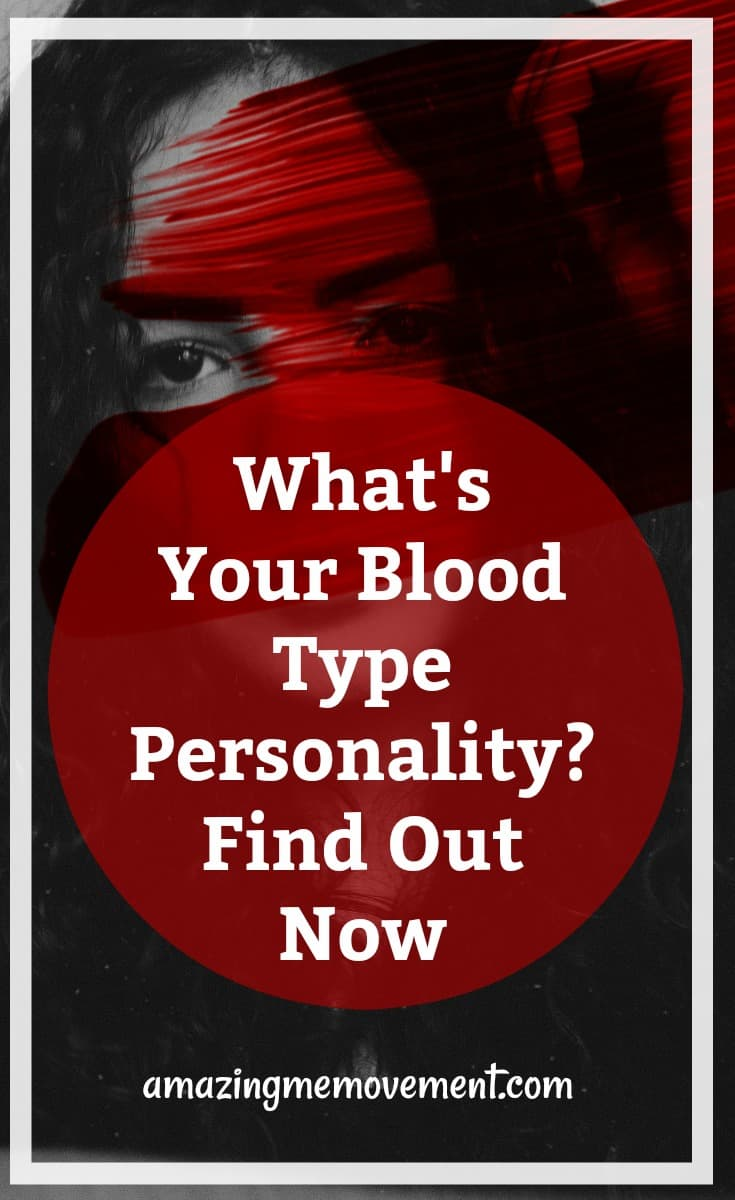 what's your blood type personality, take the test now