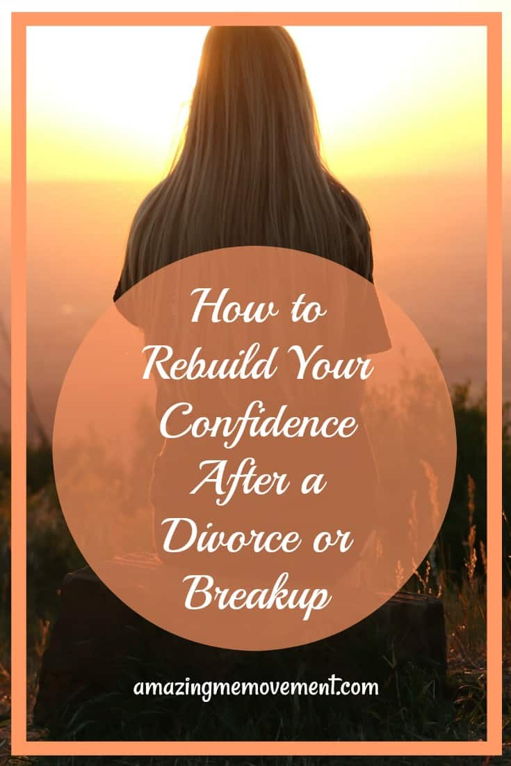 how to build your confidence after divorce