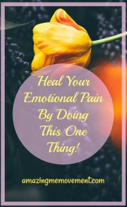 how to heal your emotional pain by writing an open letter