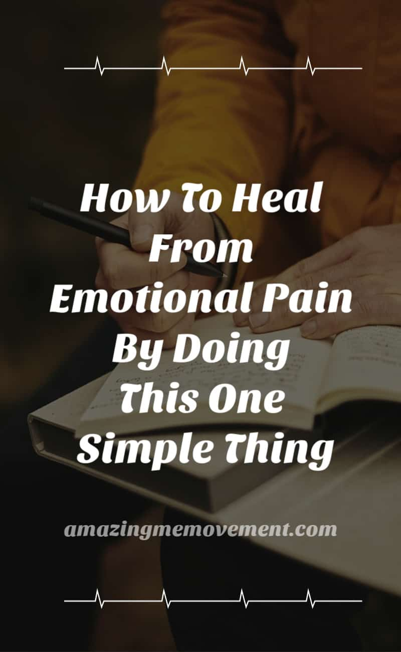 how to heal from emotional pain