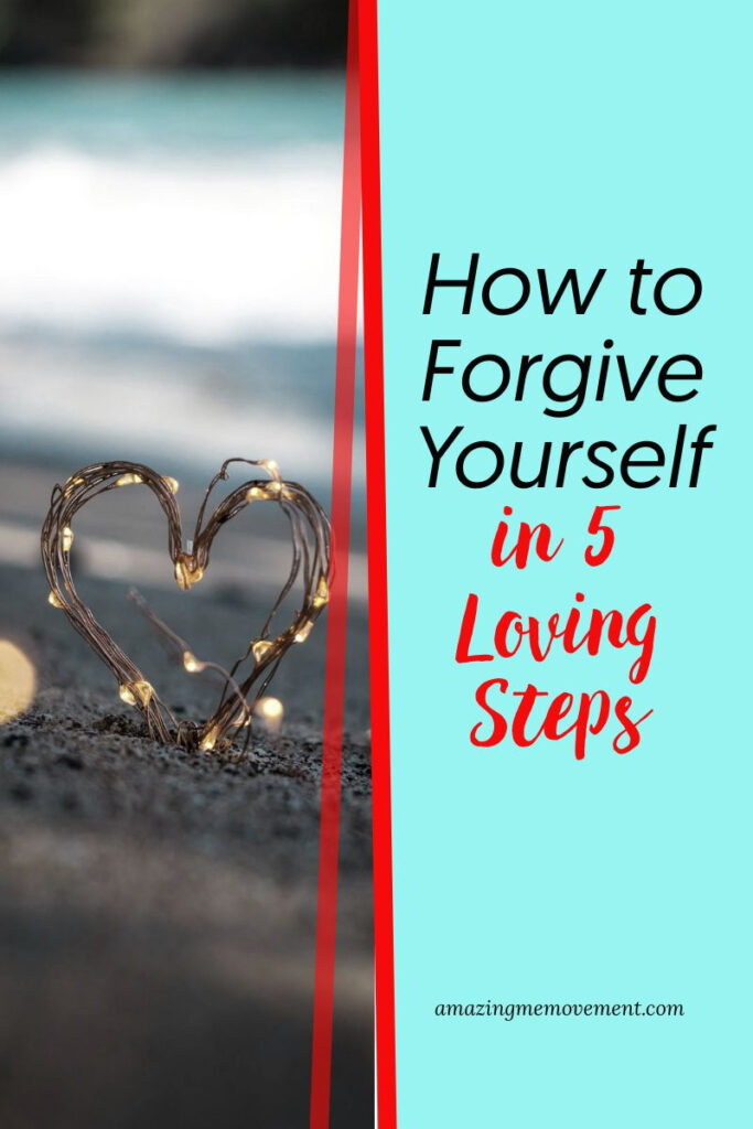 glowing heart-how to forgive yourself