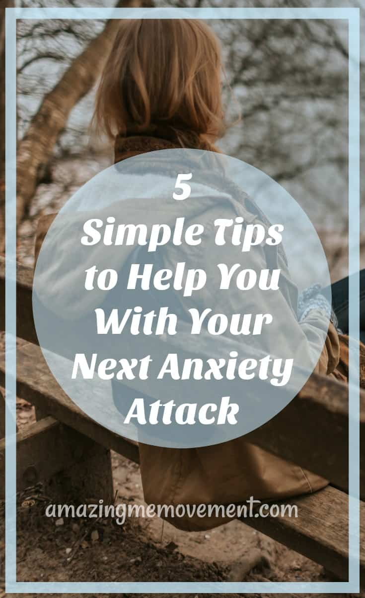 how to deal with an anxiety attack in 5 steps