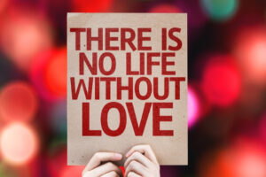 there is no life without love poster