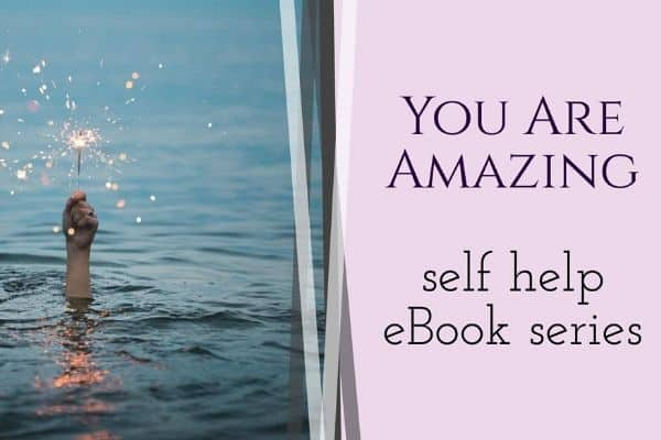 mini eBook self help books for women-you're amazing quotes blog